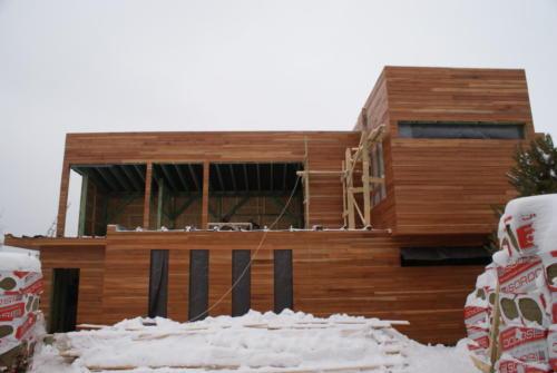 Фасад частного дома - кумару