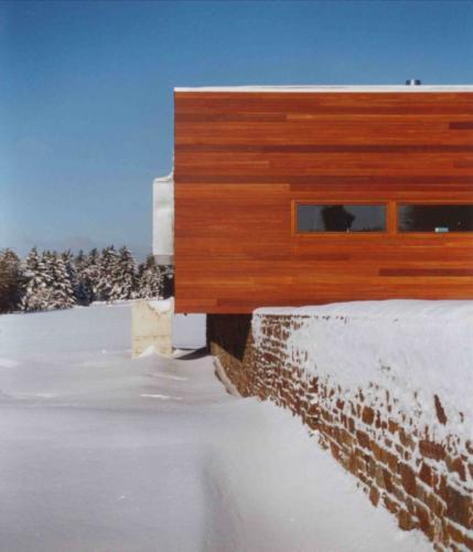 Фасад частного дома - меранти